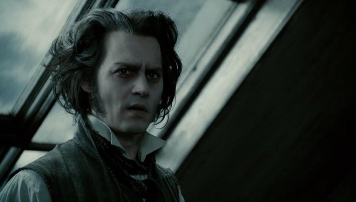 Depp as Todd.