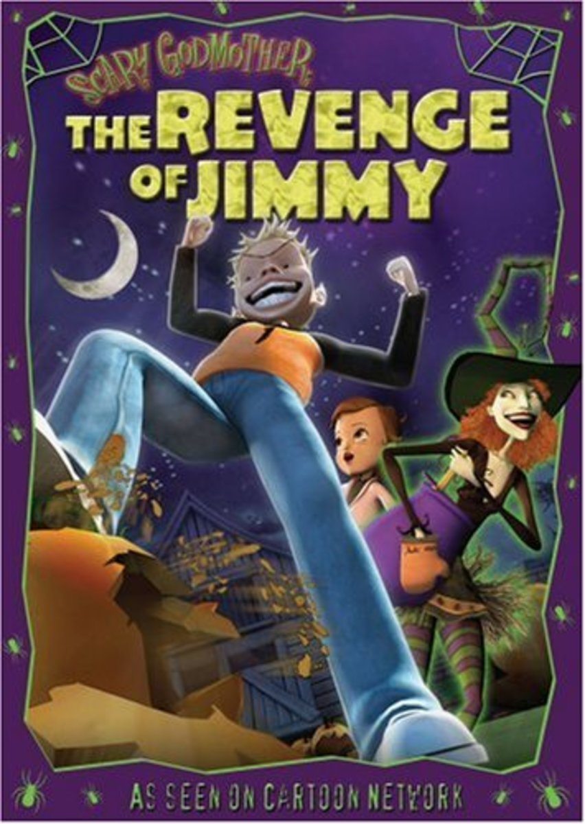 """Scary Godmother: The Revenge of Jimmy"" DVD Cover"