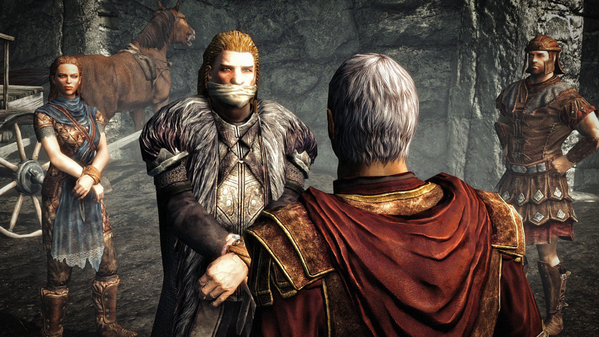 Ulfric is almost executed.