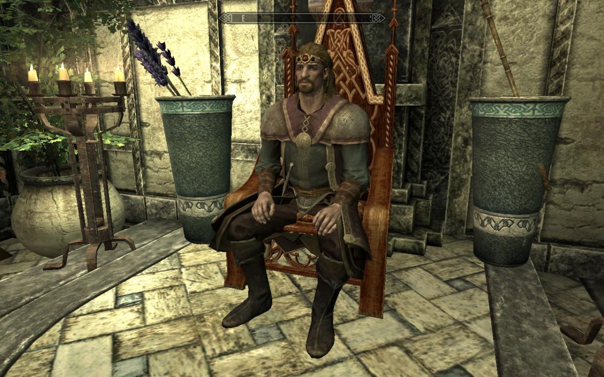 Ulfric as High King.