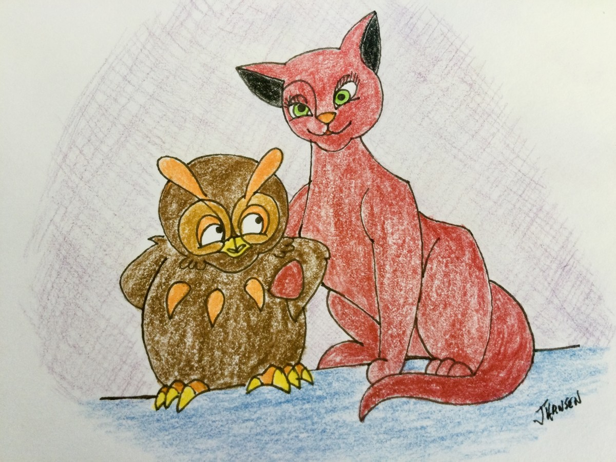 The Owl and the Pussycat Went to the Seaside