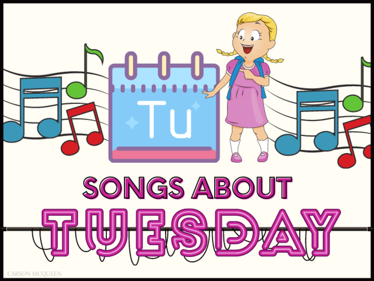 65+ Songs About Tuesday