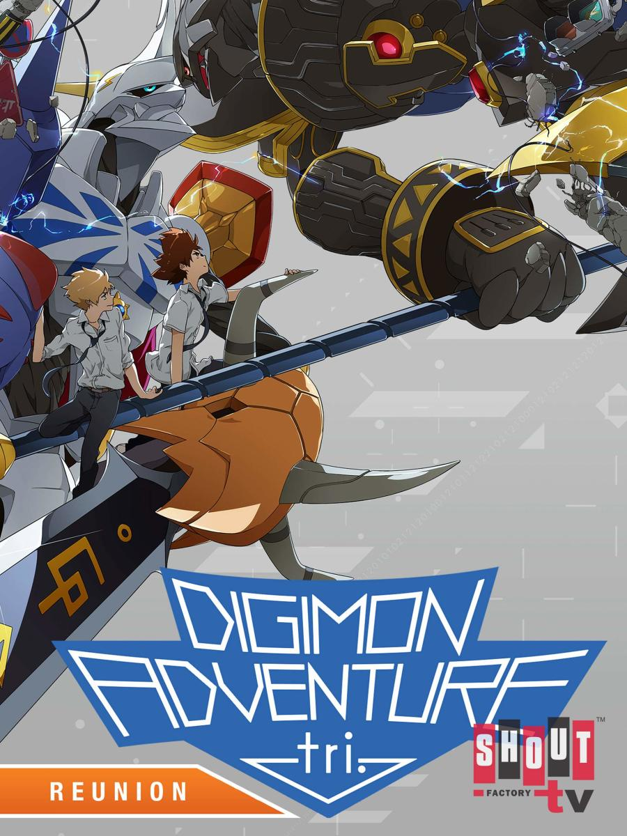 """Digimon Adventure tri. Chapter 1: Reunion"" English Dub Poster"