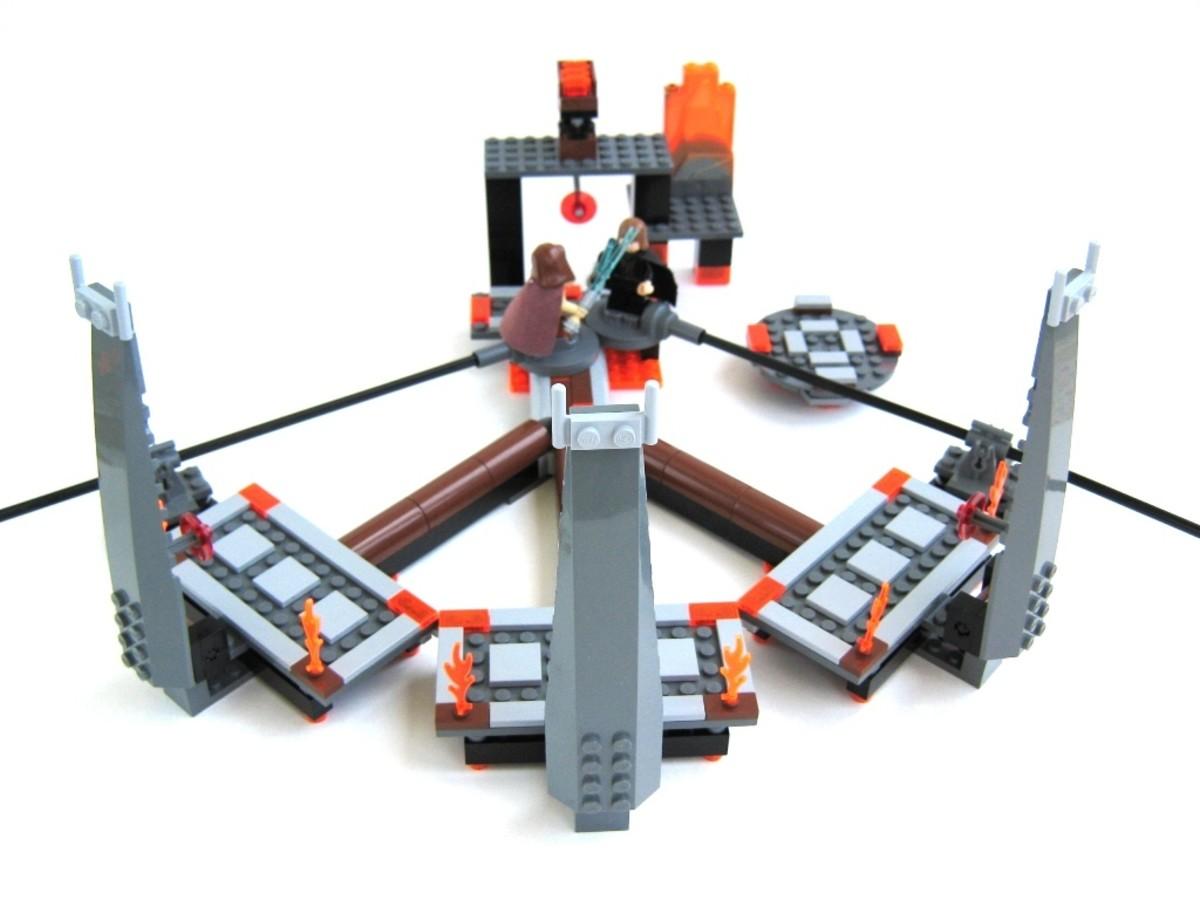 LEGO Star Wars Ultimate Lightsaber Duel 7257 Assembled