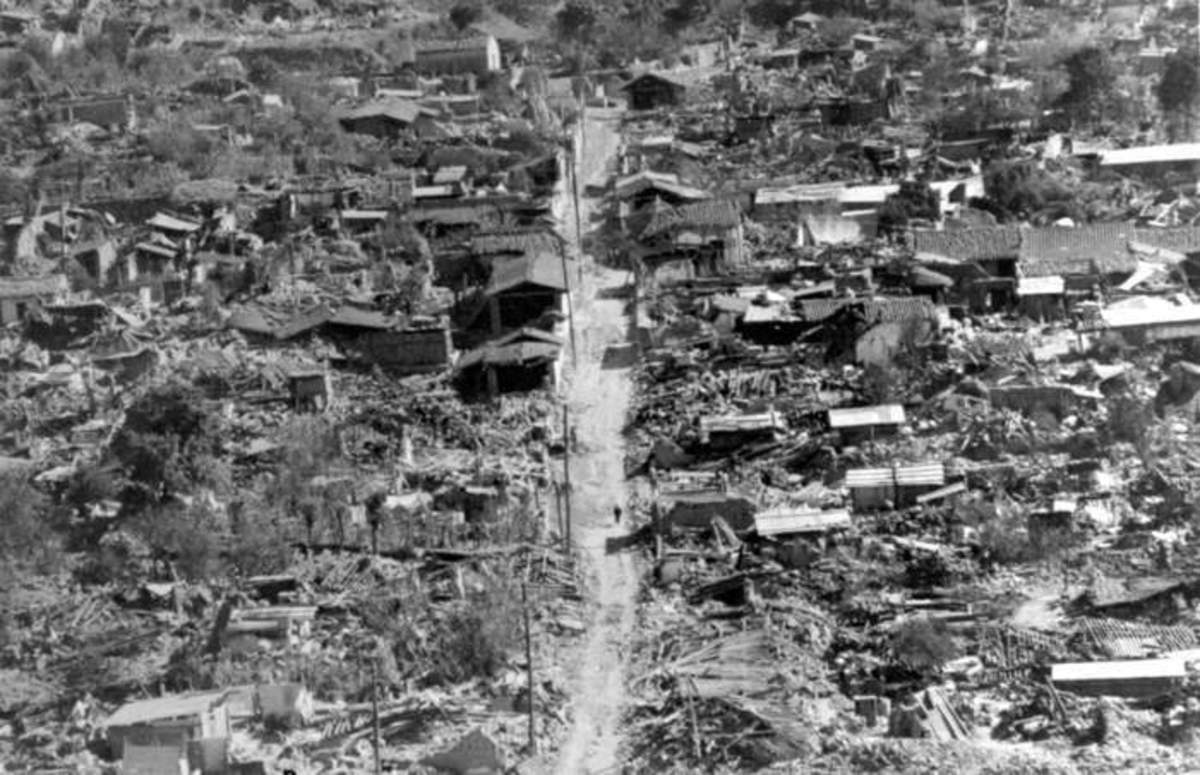 Guatemala Earthquake 1976