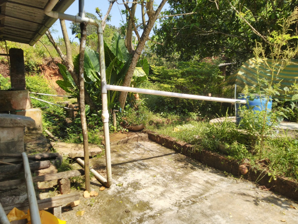 Roof Water Harvesting Made at Home for Overcoming Summer Shortages