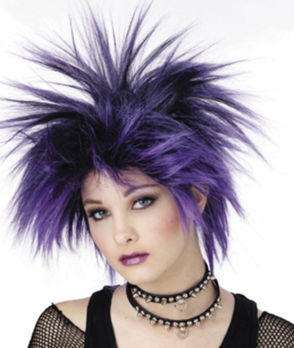 short punk rock hairstyles. short punk hair style for