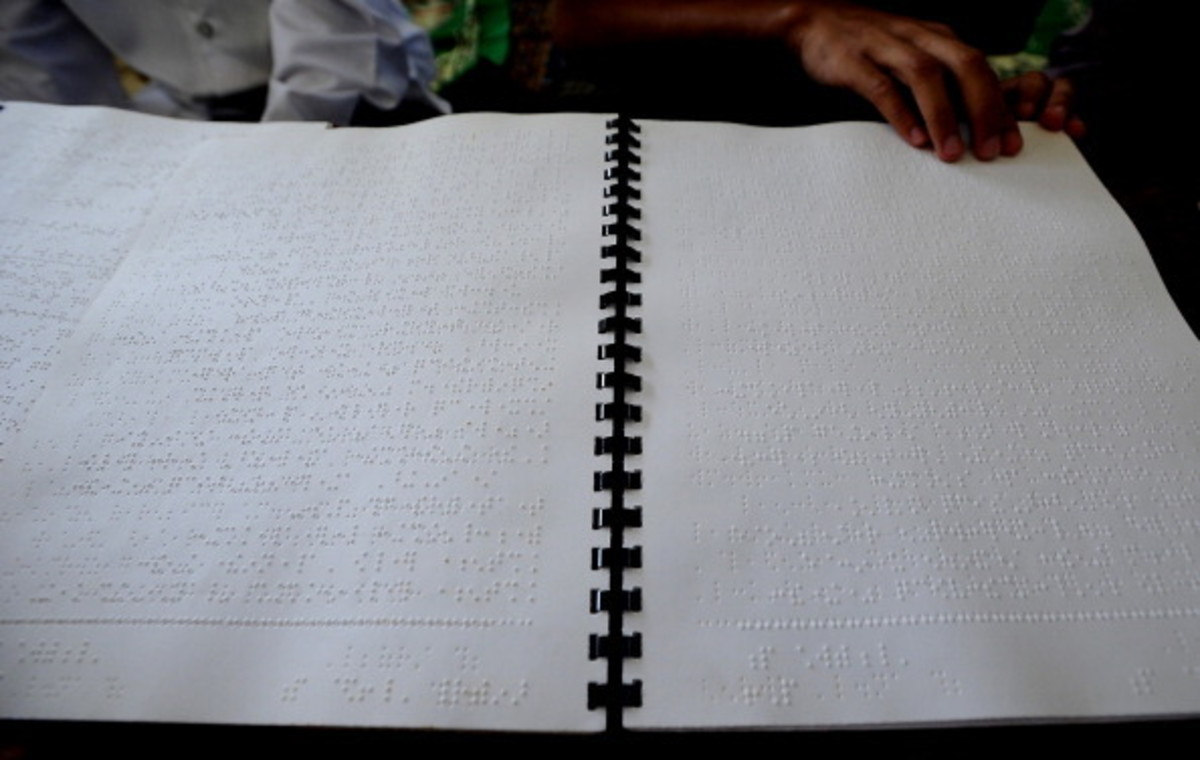 The Quran in Braille