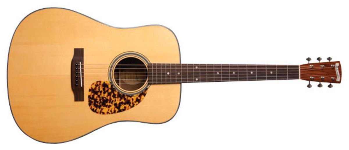 A Blueridge BR-140a dreadnought guitar.
