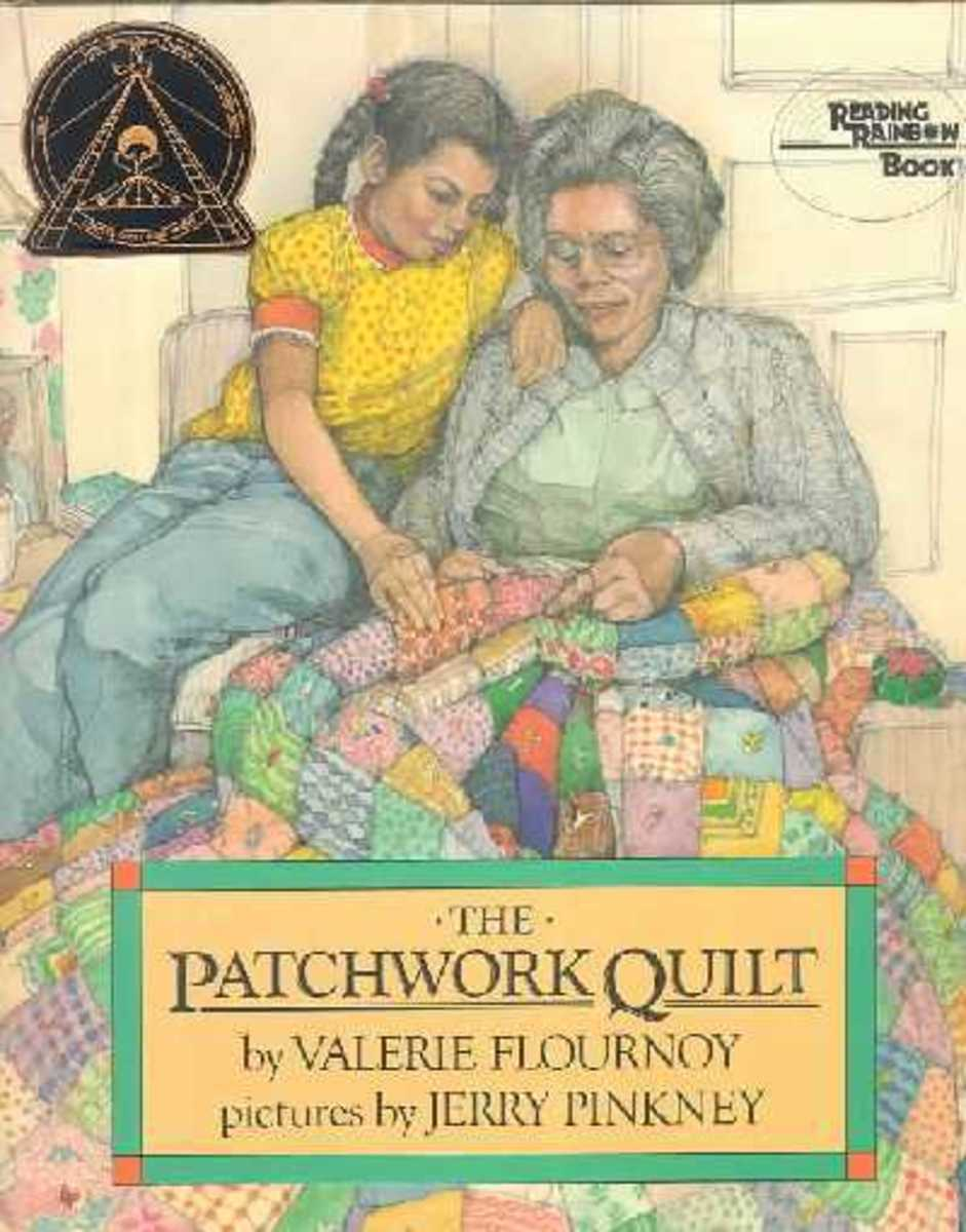 The Patchwork Quilt by Valerie Flournoy book cover