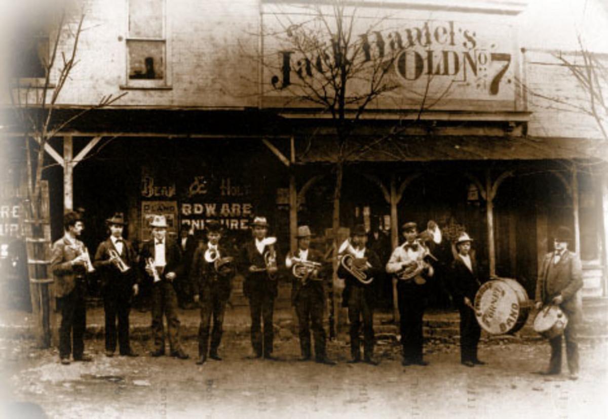Jack Daniels Original Silver Cornet Band