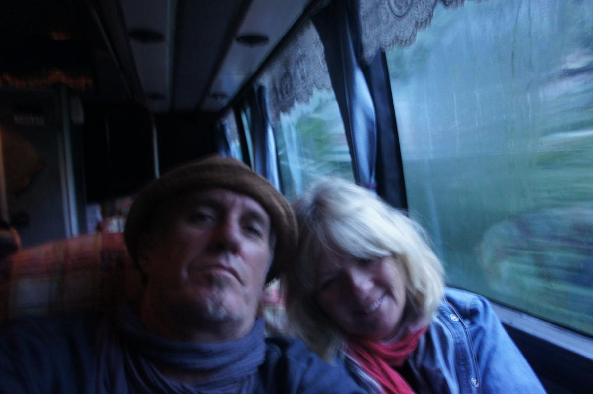 Selfie taken just inside the Southern Hemisphere