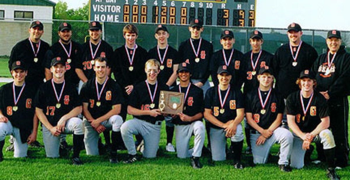 June 2, 3, 4, 2005 - Gibsonburg High School: 2005 Division IV State Baseball Champions. Head Coach Kyle Rase. (Details of the final game at the link.)