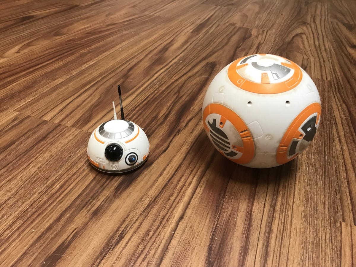 BB8's head is magnetically connected, and easily comes off. The head will come off if BB8 is moving quickly and comes to an abrupt stop.