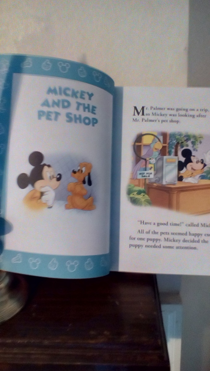 Fun story set in a pet store