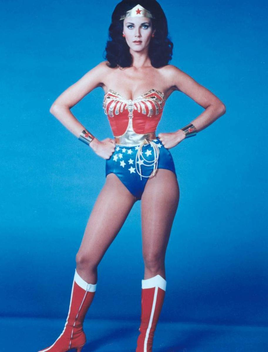 Lynda Carter played Wonder Woman from 1975-1979