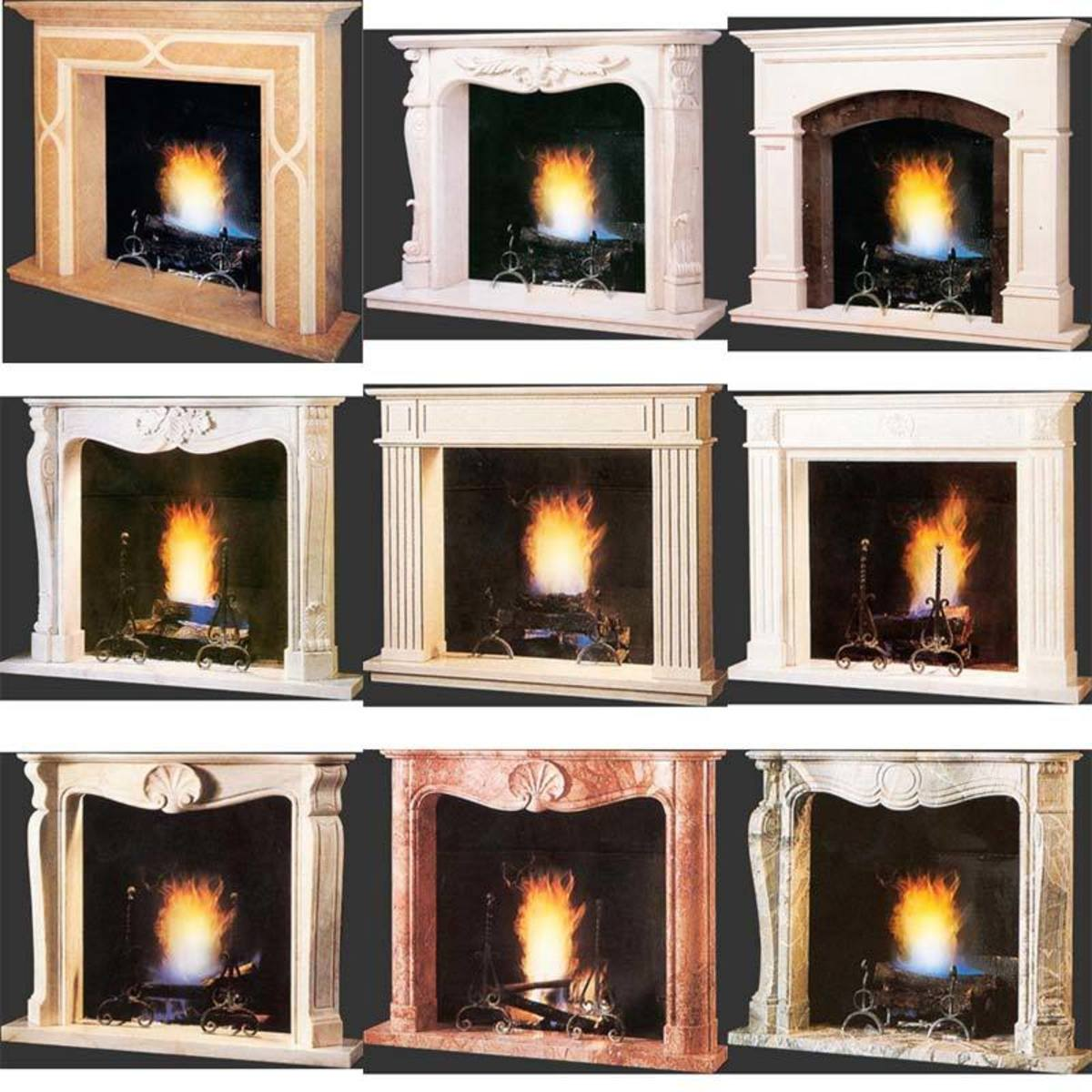 12 Different Fireplace Home Decor Options