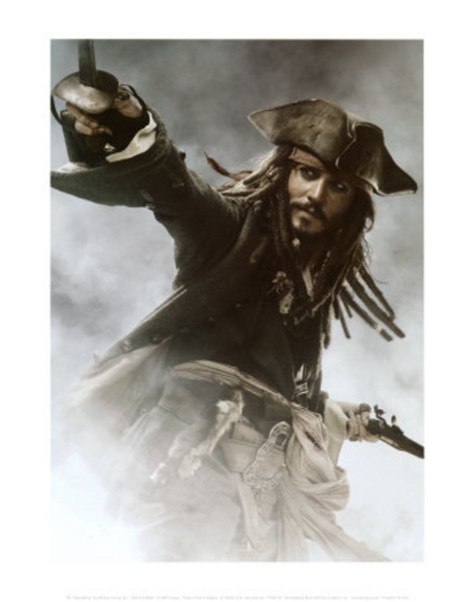 Pirates of the Caribbean: At World's End - Jack Sparrow