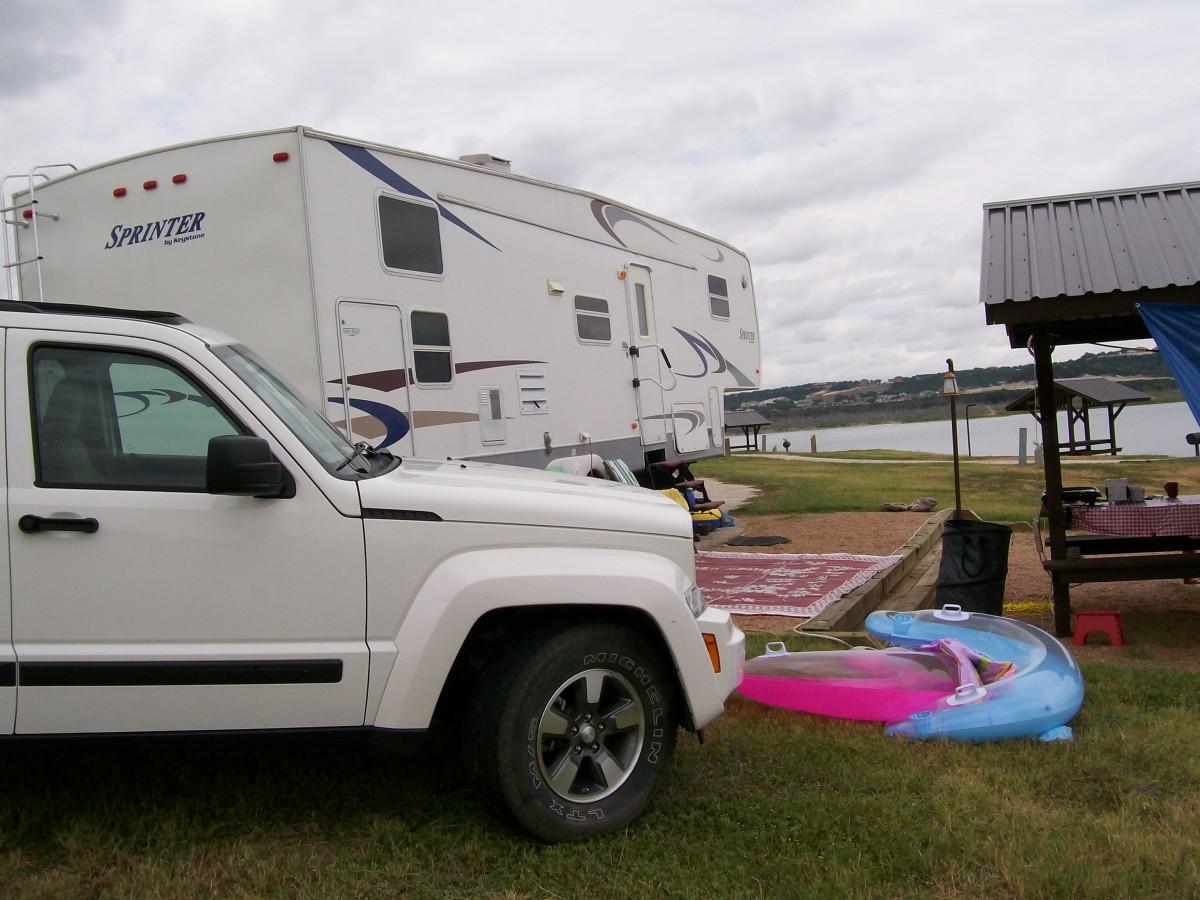 Camping at Belton Lake TX