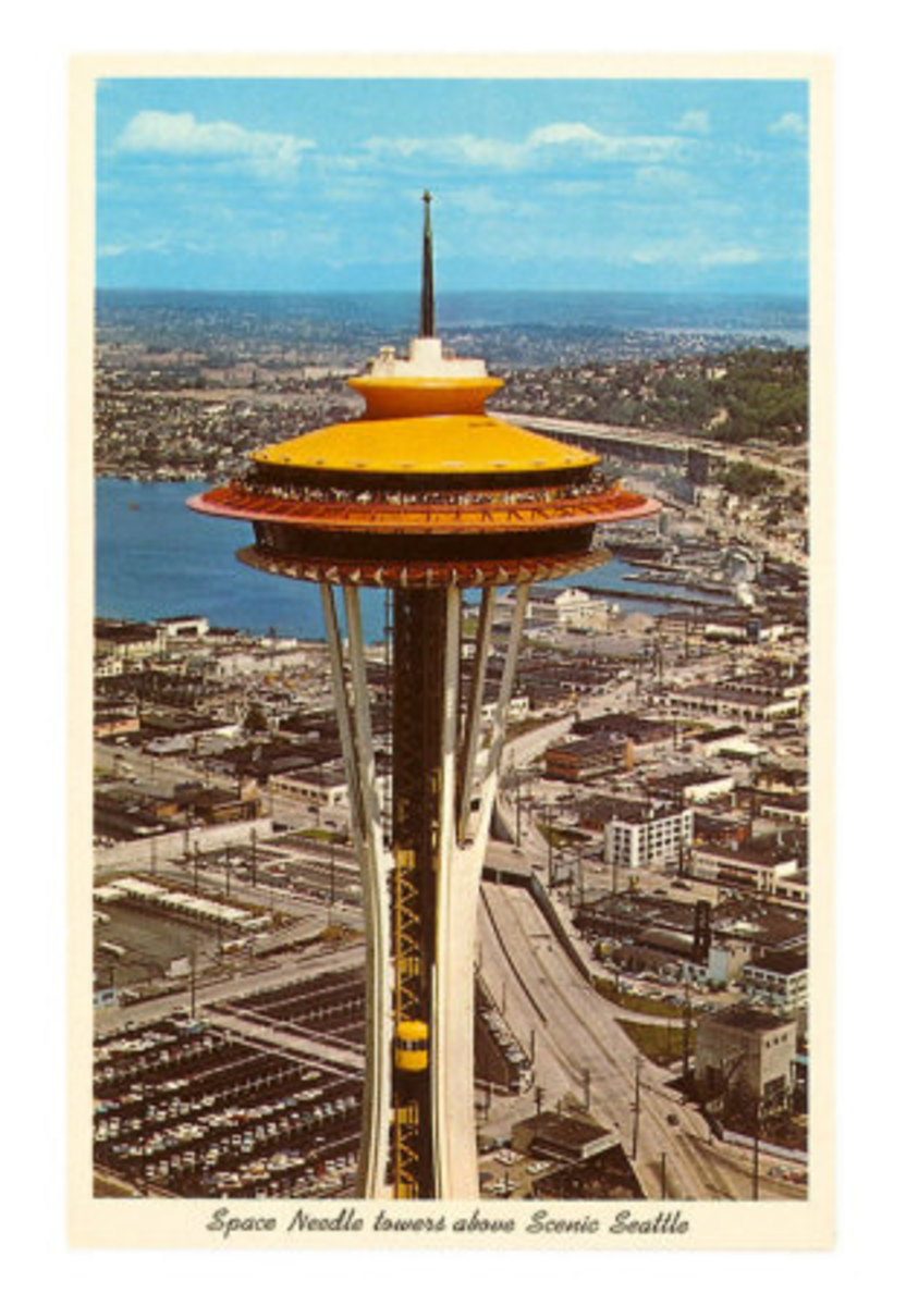The Seattle Space Needle - 1962