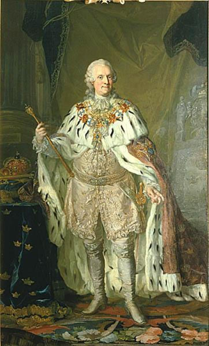 Swedish King Adolf Fredrik   1710-1771