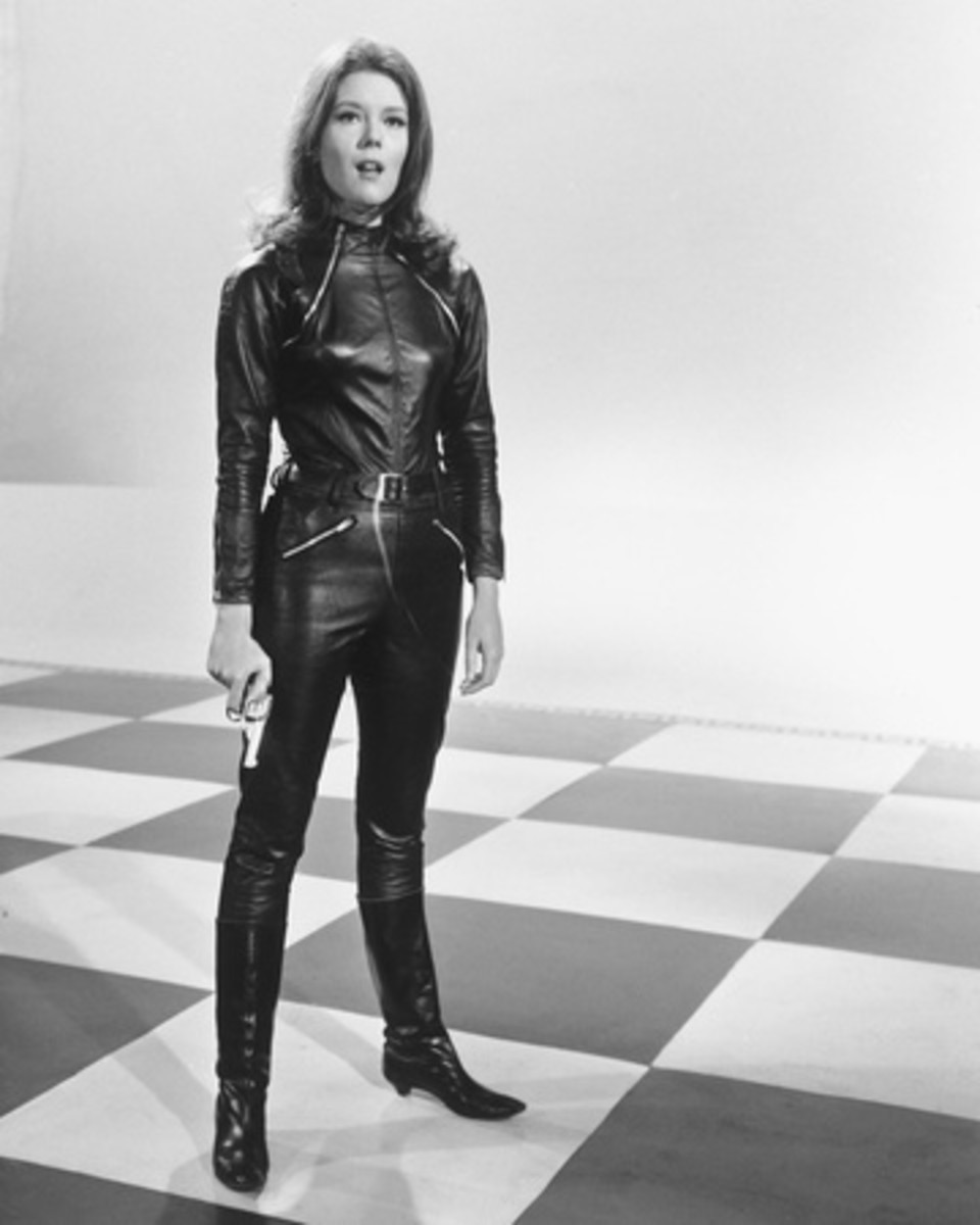 Emma Peel - as she first appeared on American TV