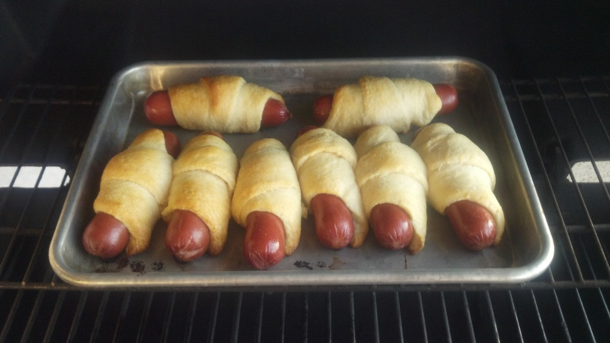 Grilled Pigs in a Blanket