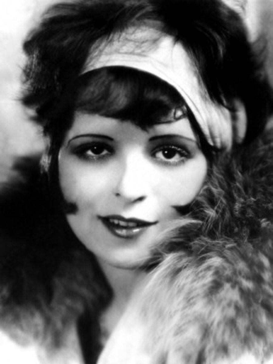 Clara Bow in the 1920s