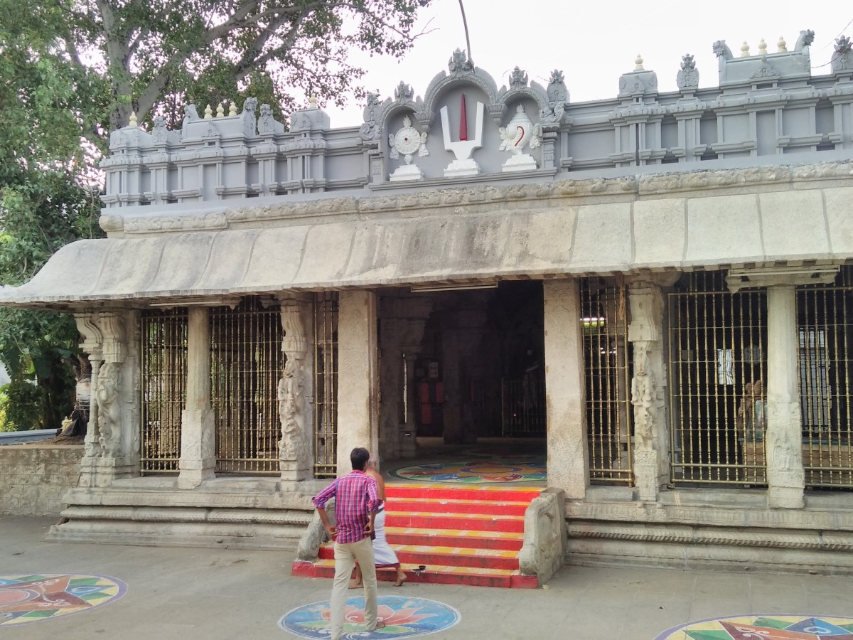 A temple in Tirupati