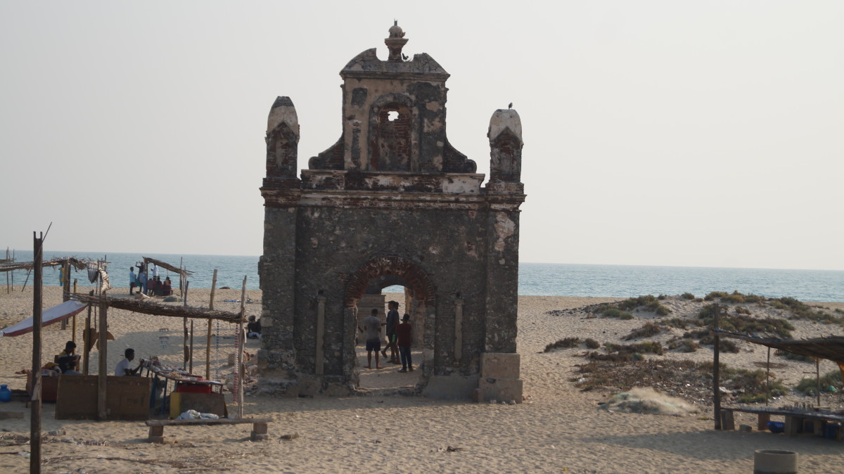 A trip to the ghost town - Dhanushkodi