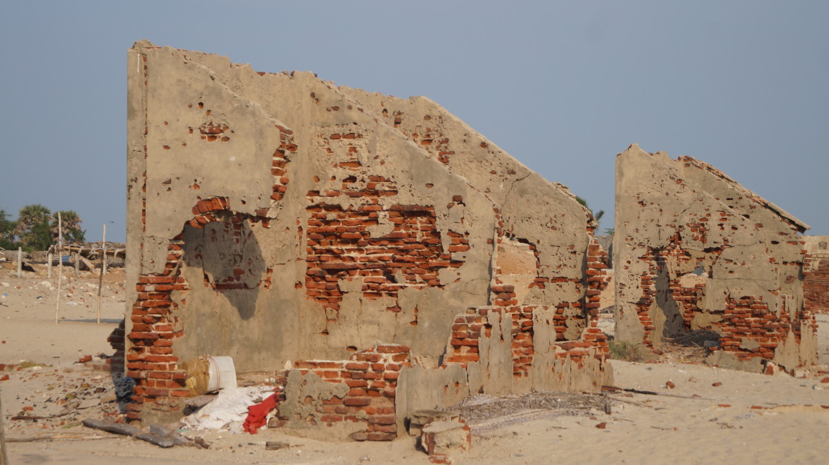 Dilapidated buildings