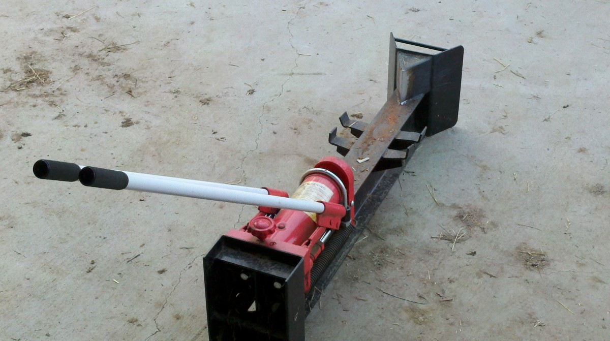 10 Ton Horizontal Manual Hydraulic Log Splitter Review ...