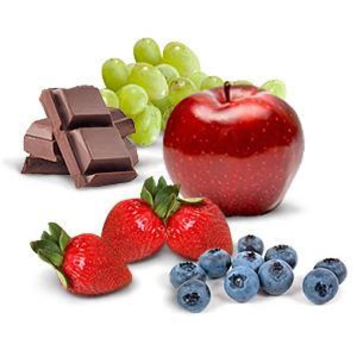 Fruits make wonderful garnishes