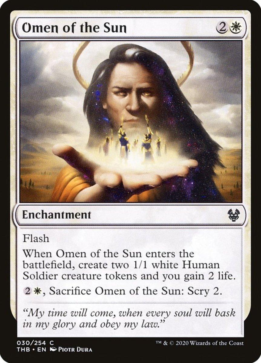 Omen of the Sun mtg