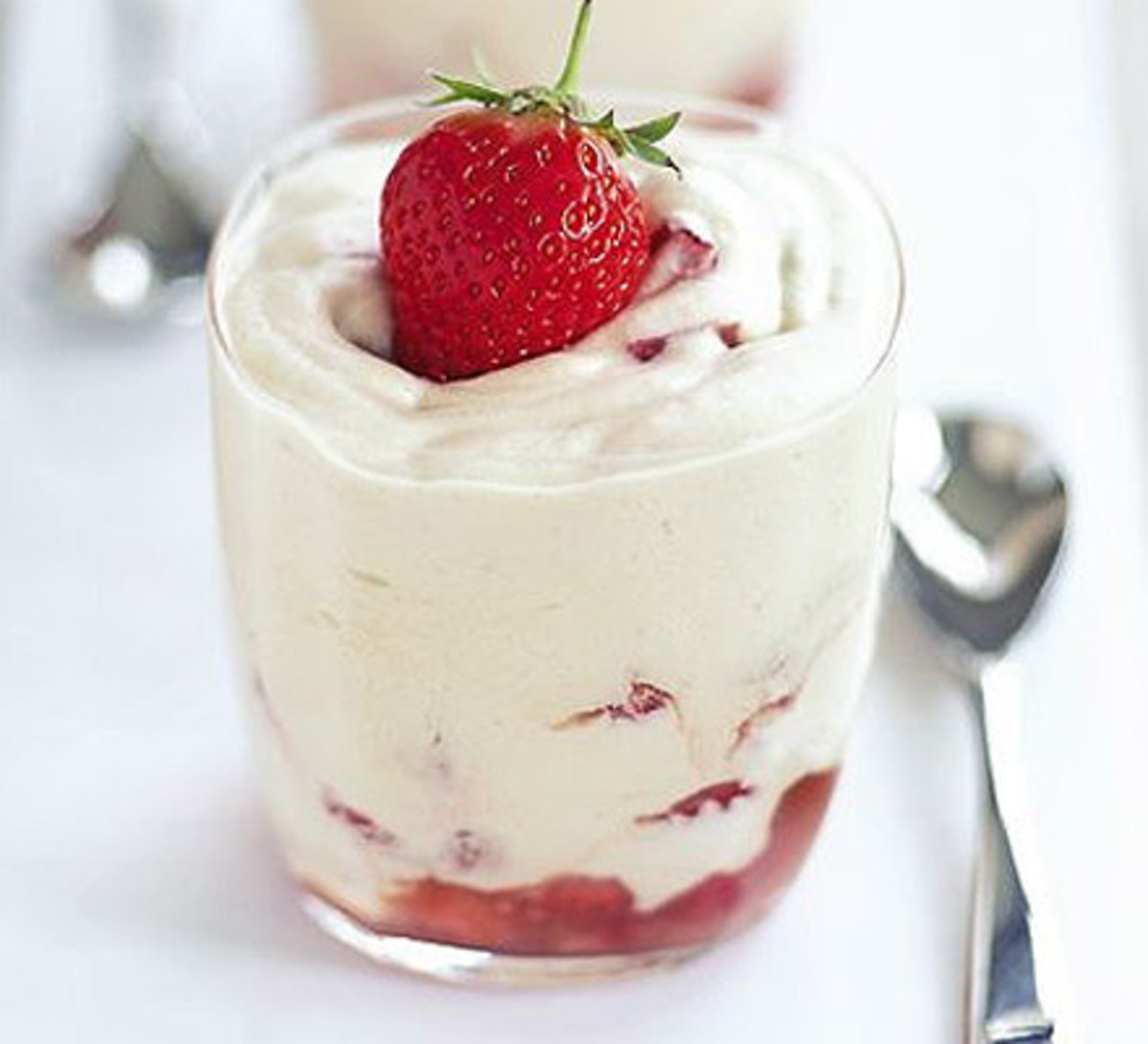 Strawberry and Rosewater Mousse