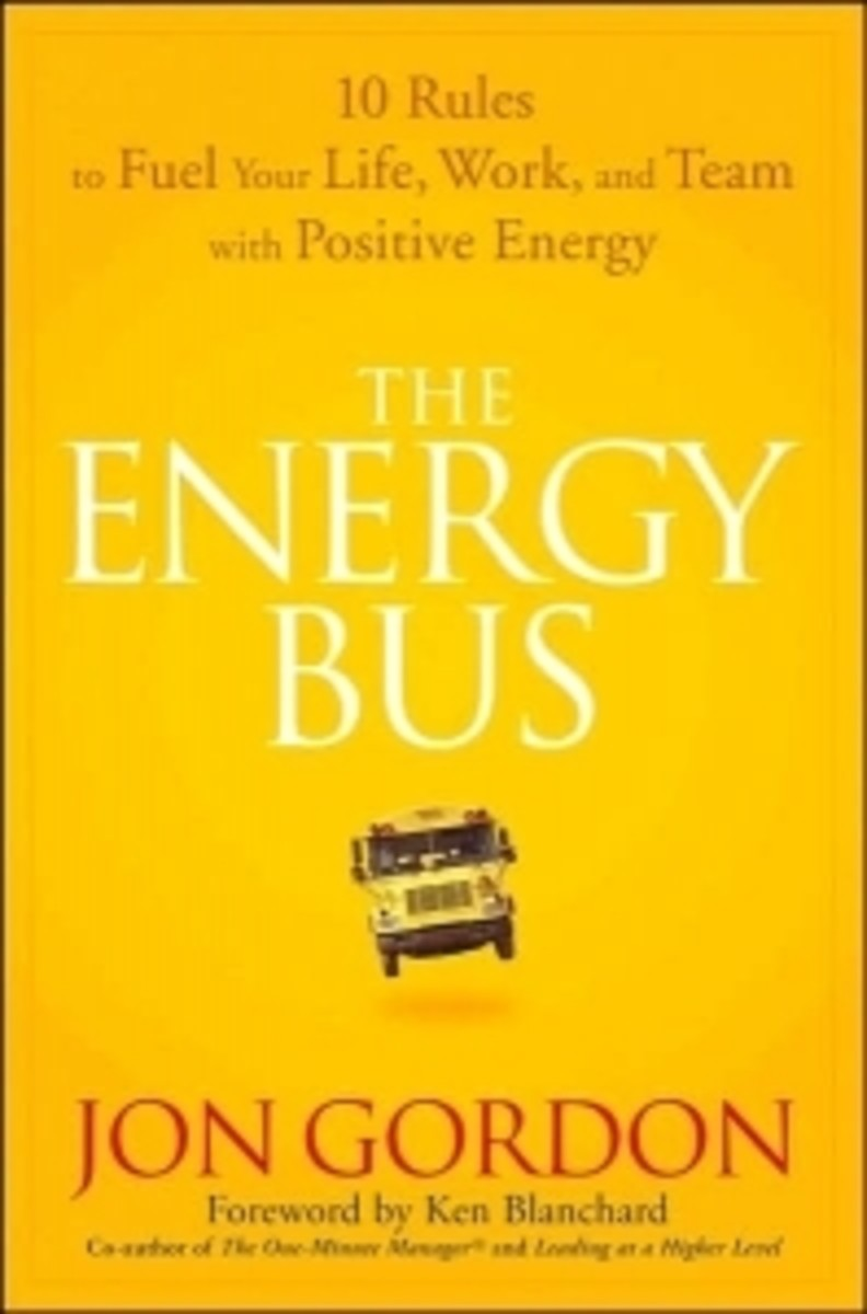 Book Review:  The Energy Bus by Jon Gordon