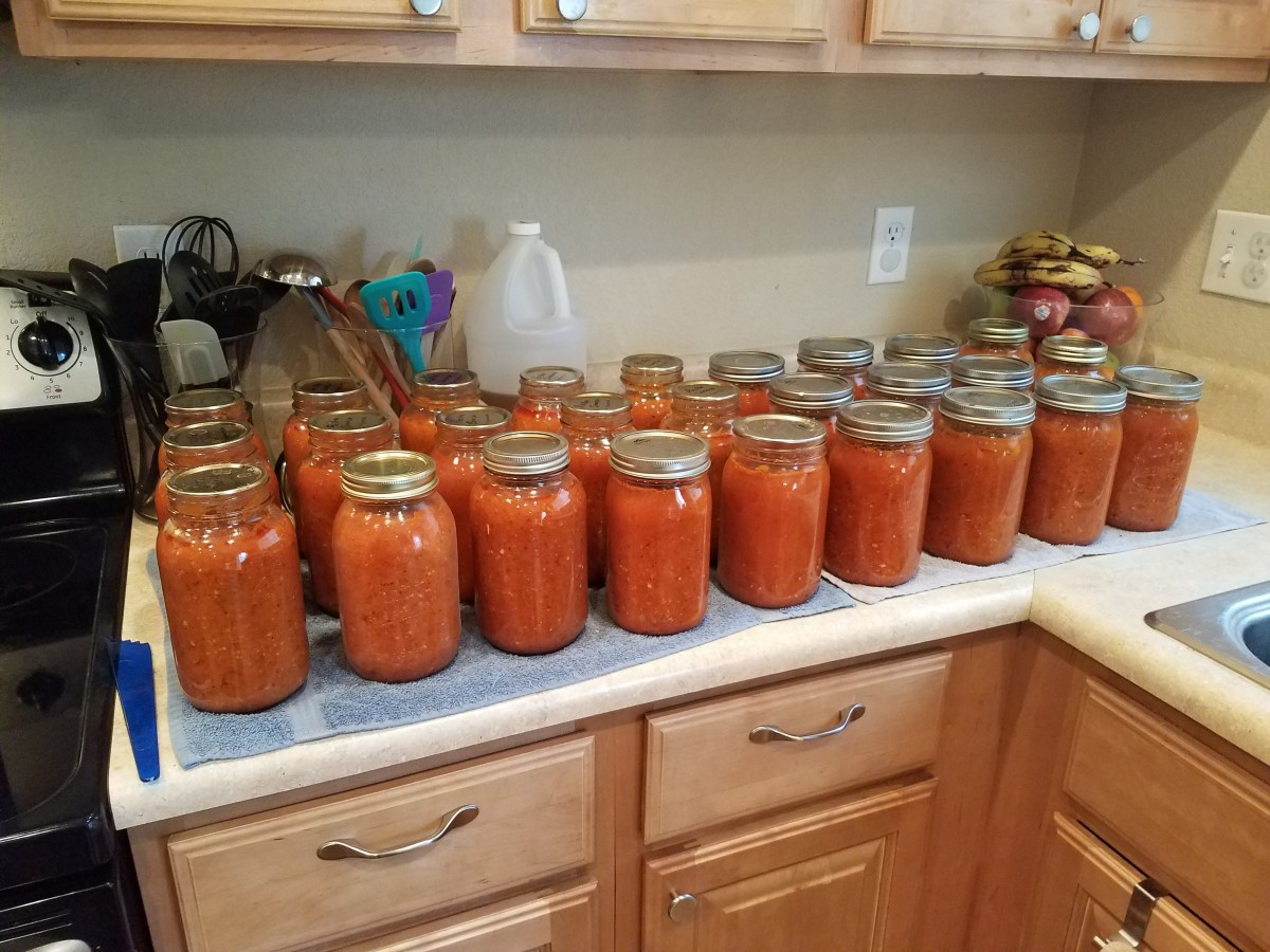 Canning Chunky Vegetable Pasta Sauce