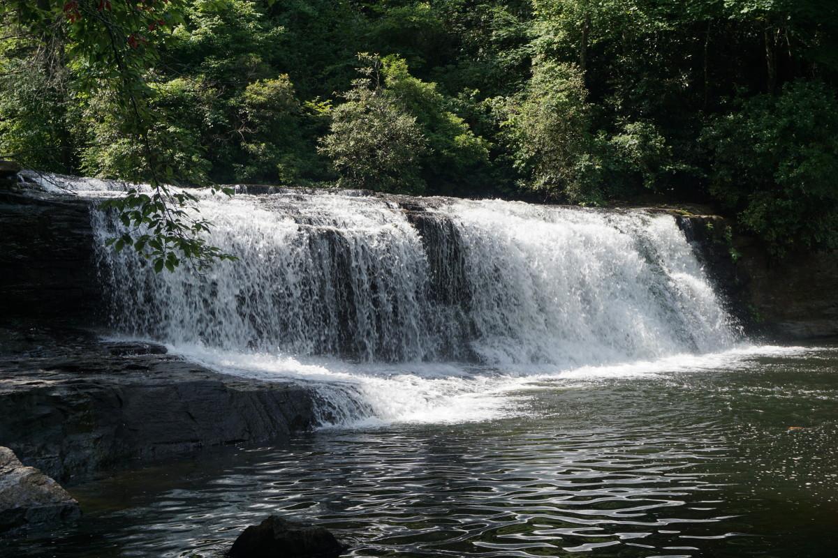 Hooker Falls Dupont State Forest - Cedar Mountain, NC