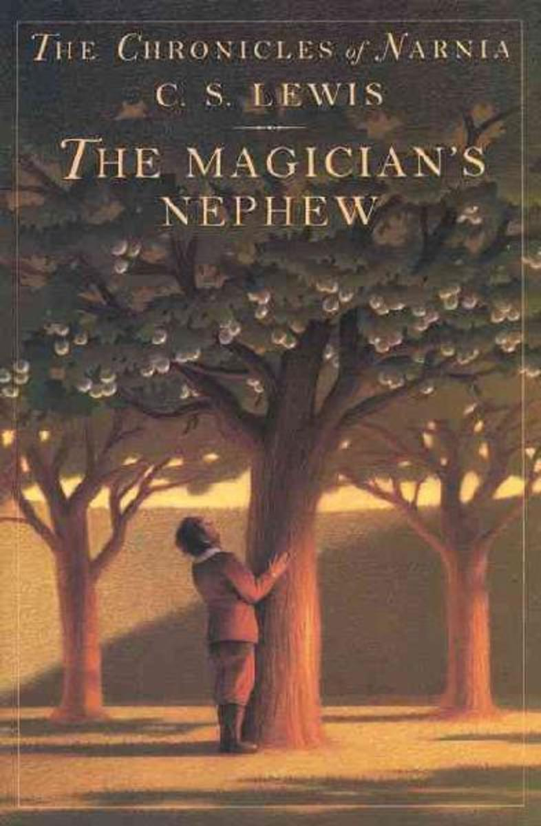 THE MAGICIAN'S NEPHEW - THE CHRONICLES OF NARNIA BY C.S. LEWIS BOOK COVER