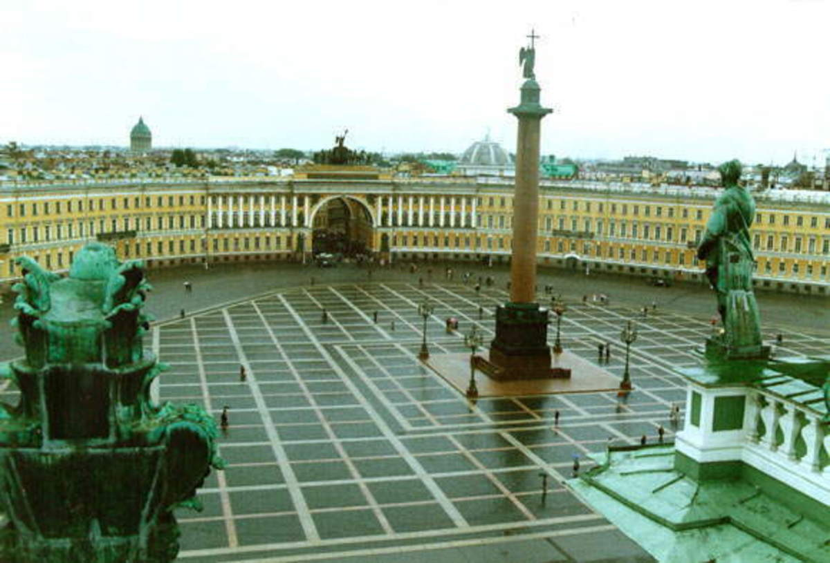 The Courtyard of the Winter Palace