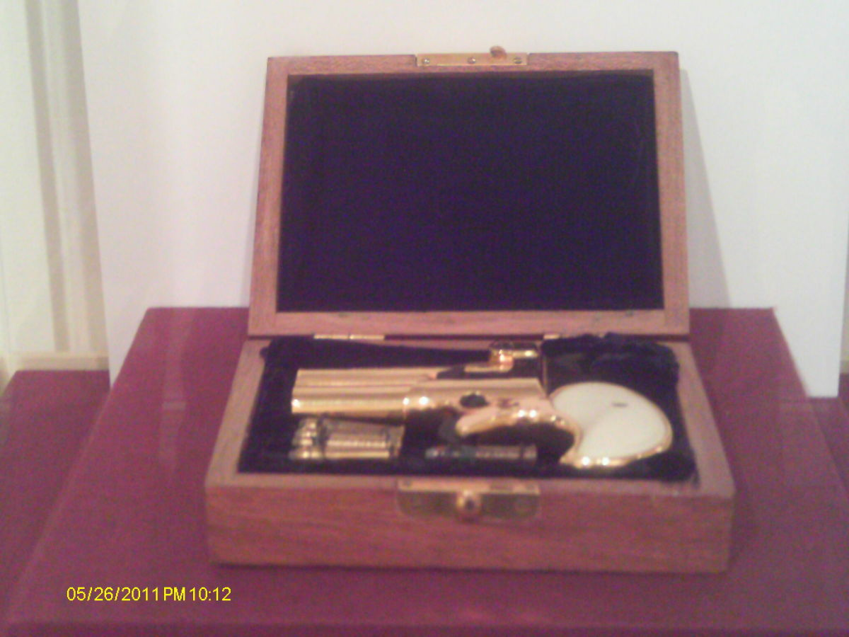 Gold Plated Derringer