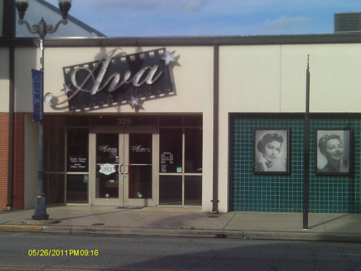 Places to Visit in the States:  The Ava Gardner Museum in Smithfield, North Carolina