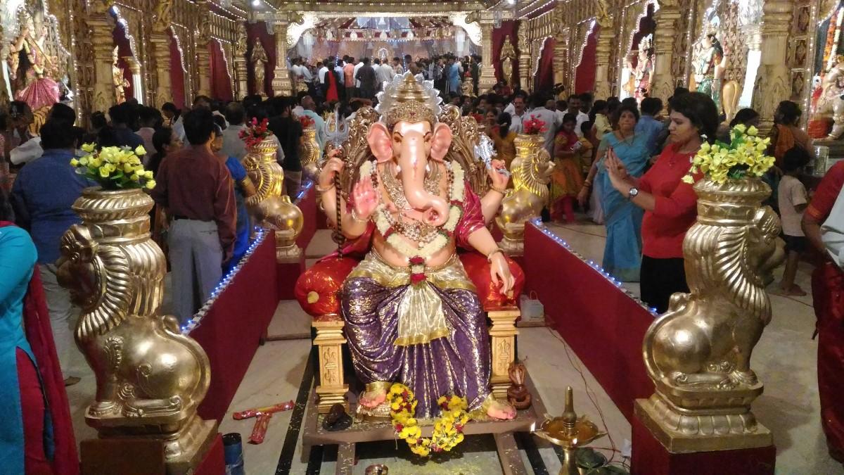 Lord Ganesh Statue at Kudroli