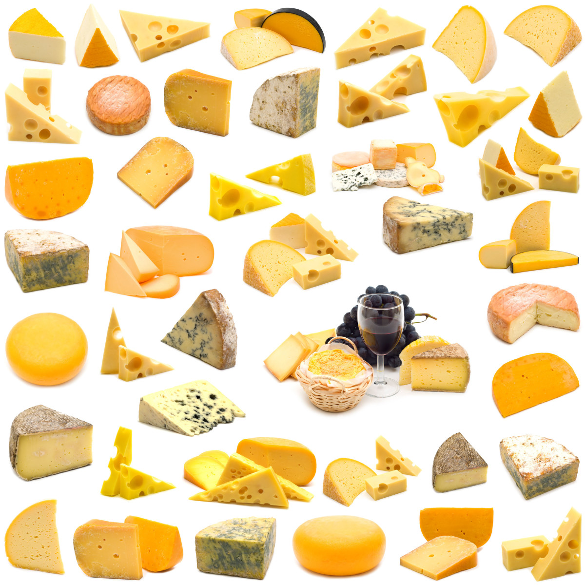 Cheese-world, there are hundreds of different cheese