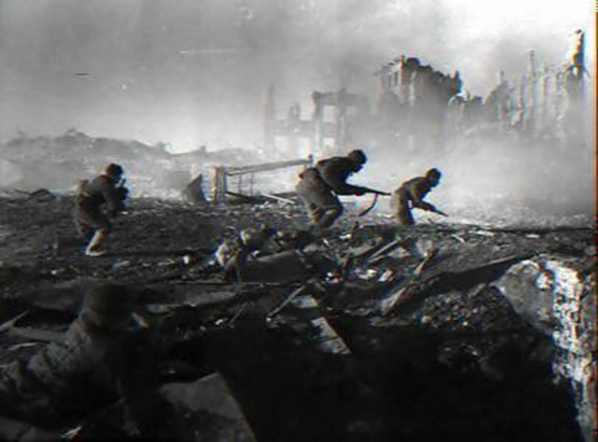 Stalingrad saw some of the most devestating urban combat during the war