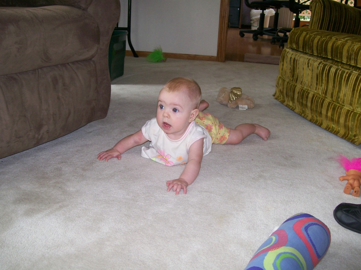 Keeping Babies Safe While They Learn to Crawl