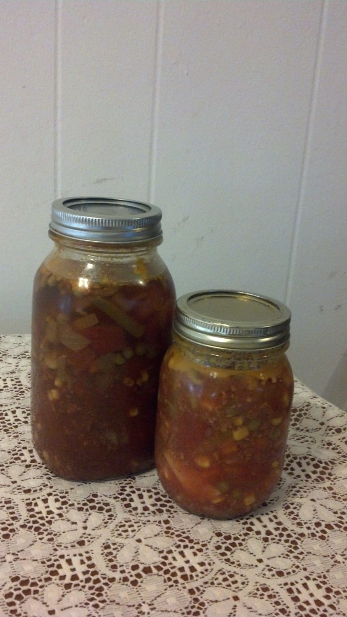 Jeff's Canned Hamburger Soup