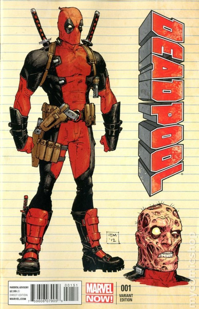 Everything you've ever wanted to know about Deadpool (except not really)