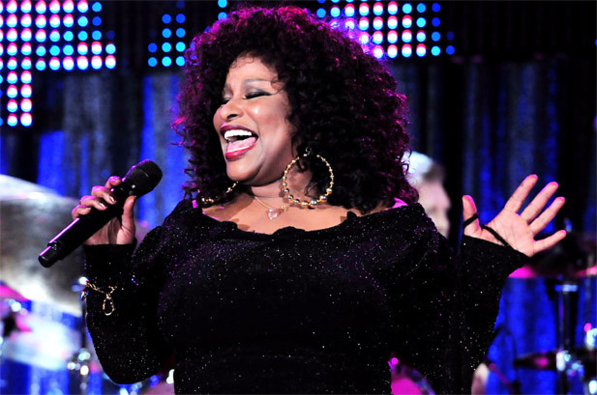 Everyone in my family sang, and we would always sing these songs. Chaka Khan
