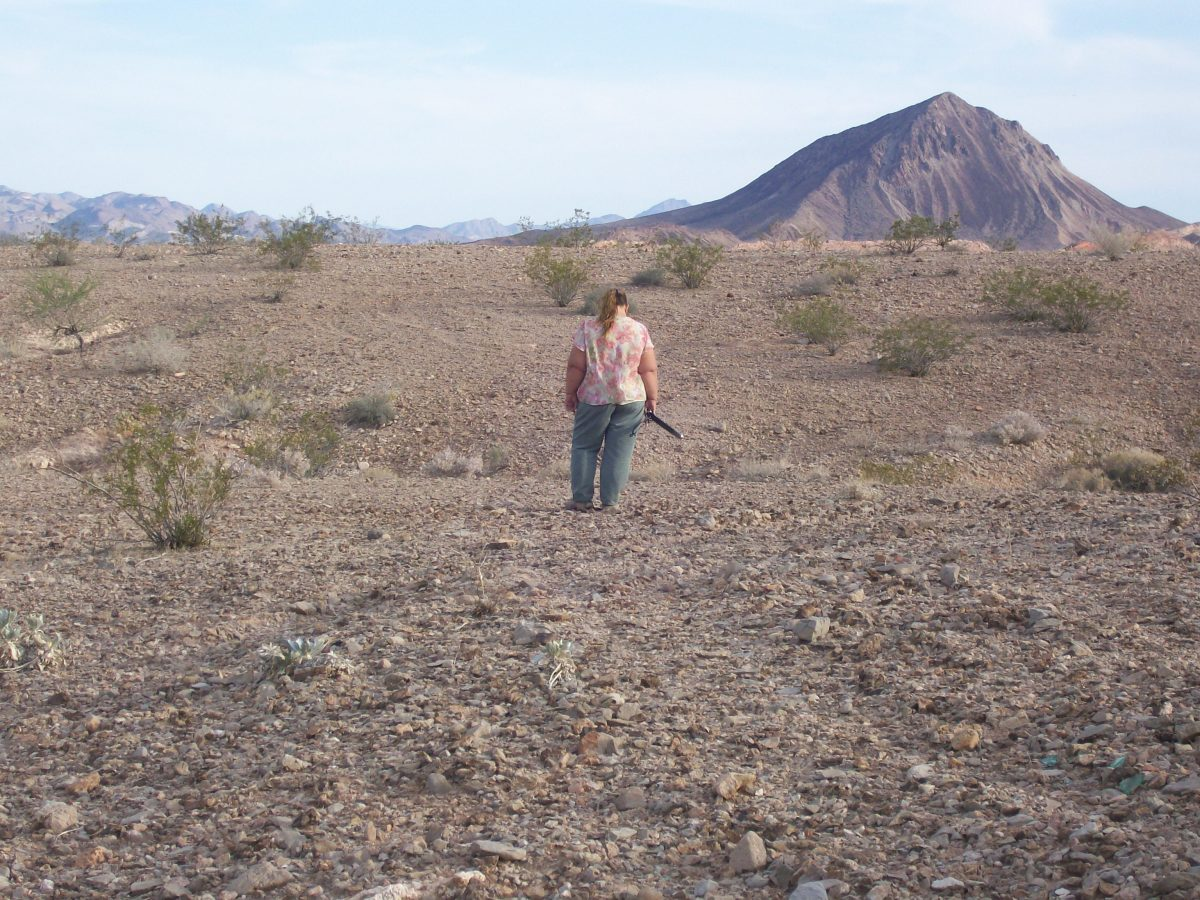 Fossil hunting near Lava Butte on BLM land.